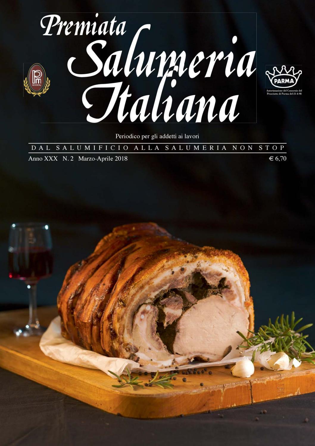 Premiata Salumeria Italiana 2-2018 by EDIZIONI PUBBLICITA  ITALIA - issuu 83bb24612605