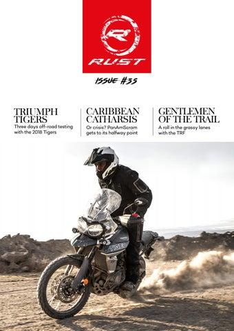 Rustsportscom Rust Motorcycle Magazine Issue 35 By Rustsportscom
