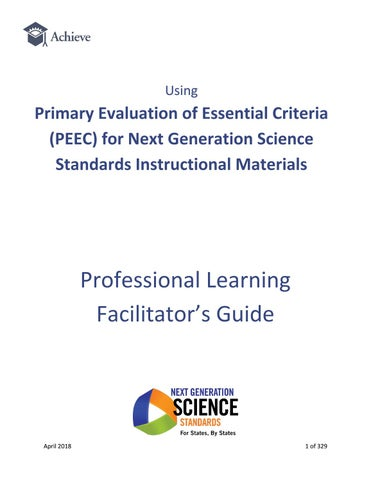 A First Timers Guide To Evaluation >> Peec Facilitator Guide Final By Achieve Inc Issuu