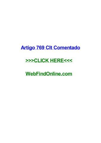 Artigo 769 clt comentado by leighlomf - issuu