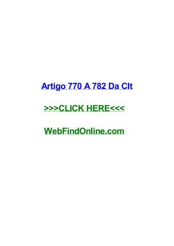 artigo 770 a 782 da clt by kylezids issuu