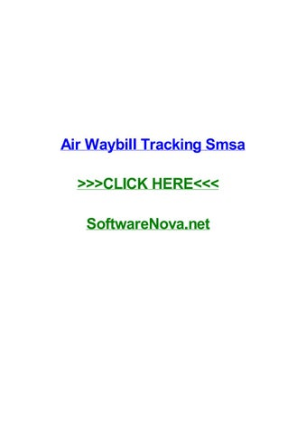 Air waybill tracking smsa by joelyhka - issuu