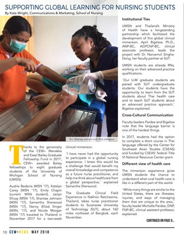 Page 10 of Supporting Global Learning for Nursing Students
