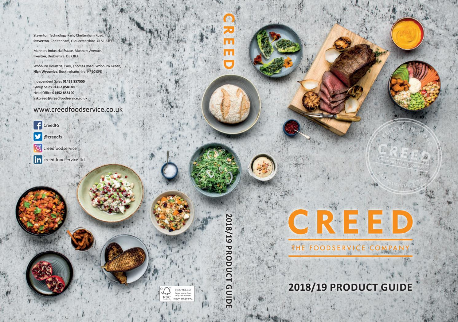 2018 19 Creed Product Guide By Foodservice Issuu Peachy Pear Puree 100gr 6m