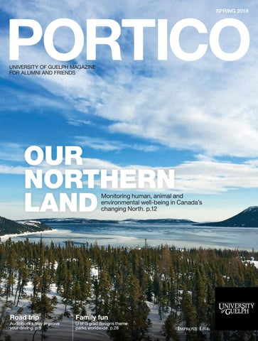 Portico Magazine - Spring 2018 by University of Guelph - issuu c527db402