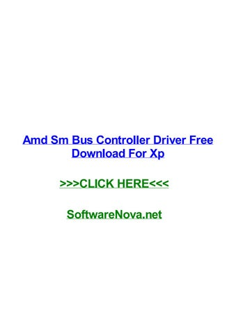 pilote controleur de bus sm xp