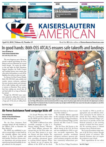 Kaiserslautern American, April 13, 2018 by AdvantiPro GmbH