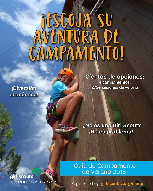 Summer Camp Brochure 2018 en espanol by Girl Scouts–Arizona Cactus ...