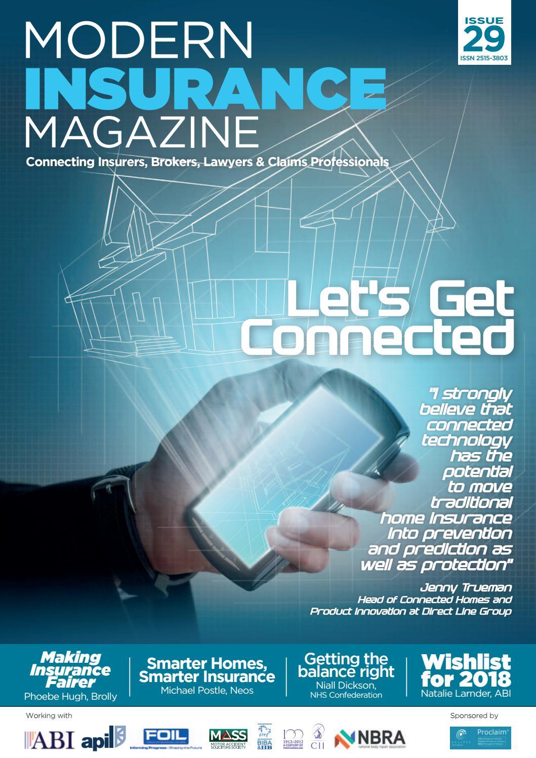 Modern Insurance Magazine Issue 29 by Charlton Grant - Issuu