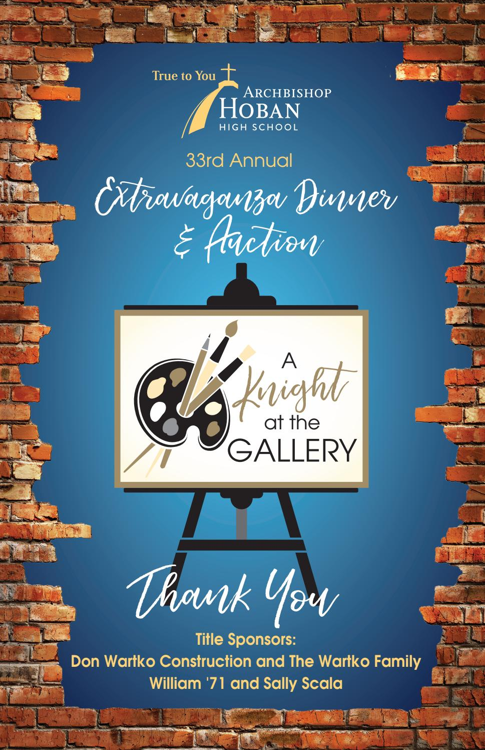 Extravaganza Catalog 2018 Final By Archbishop Hoban High School Issuu