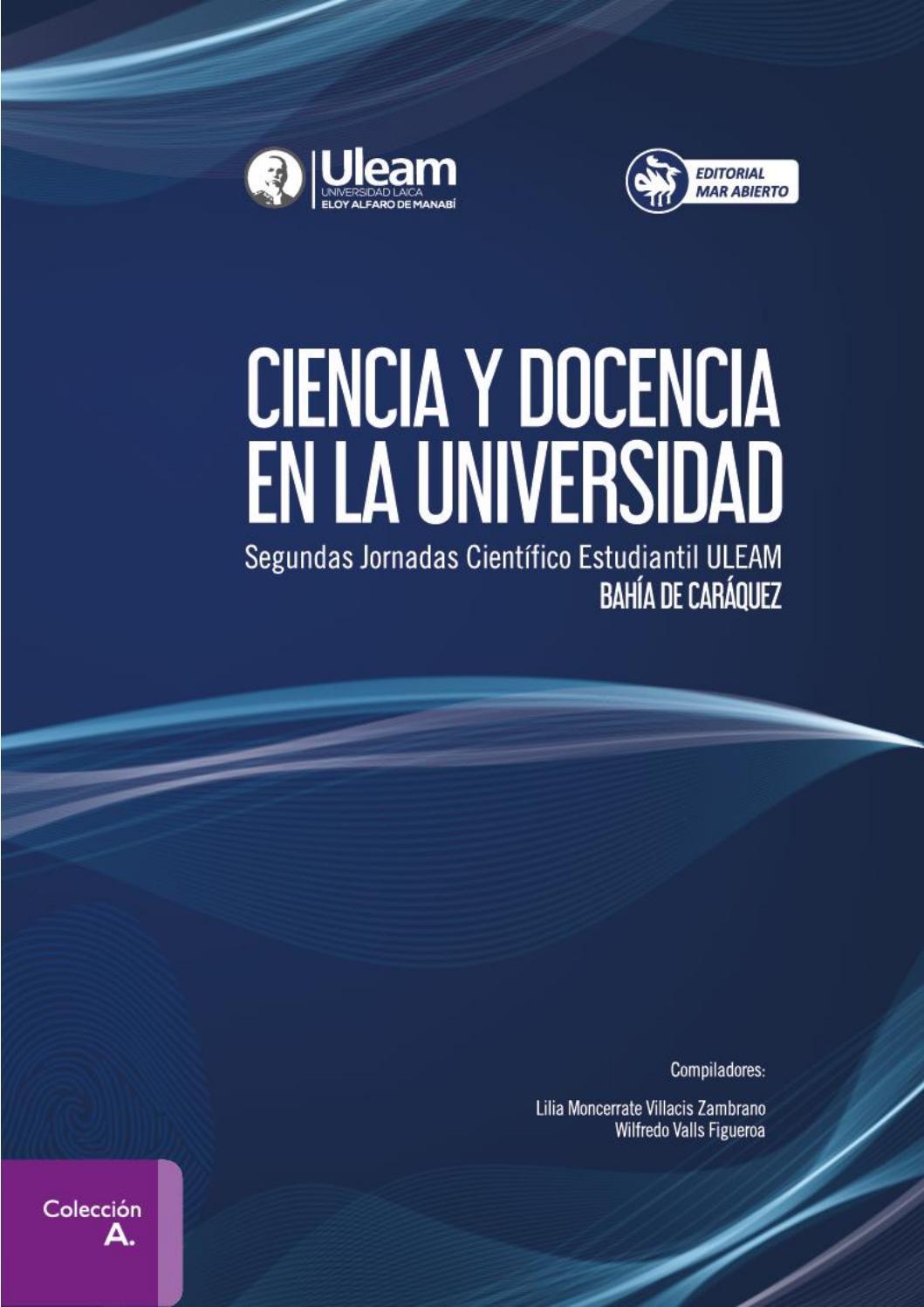 f84ce1454 Ciencia y docencia en la universidad by Editorial Mar Abierto - issuu