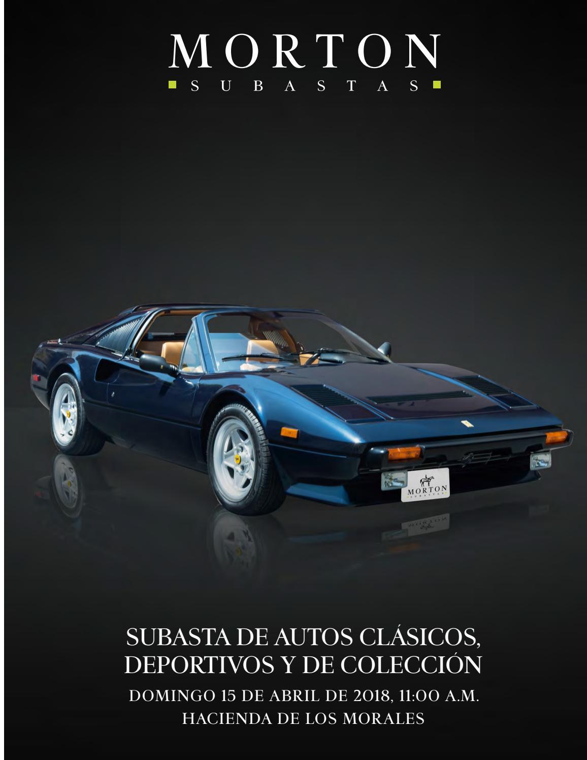 Subasta de autos clásicos deportivos y de colección by morton subastas issuu