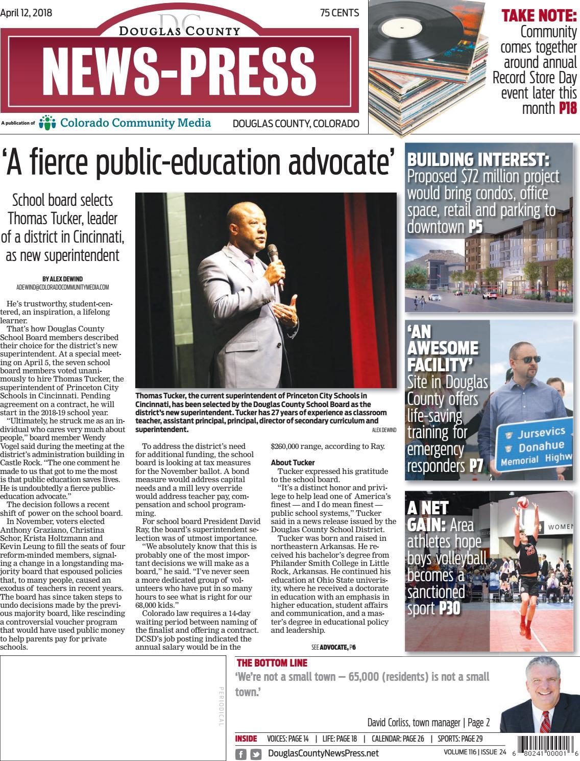 Douglas County News Press 0412 by Colorado Community Media - issuu