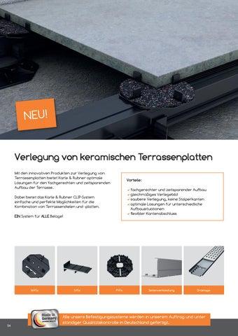 Terrassenboden Und Zubehor Katalog By Tomwood Ag Issuu