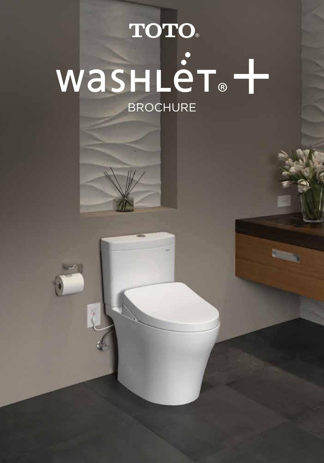 Washlet plus 2018 Brochure by The BATHROOM STORE - issuu