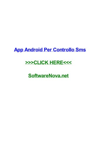 App android per controllo sms by erikauonrw - issuu