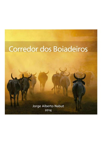 Corredor dos Boiadeiros by jorgealbertonabut - issuu 01b466a91dd