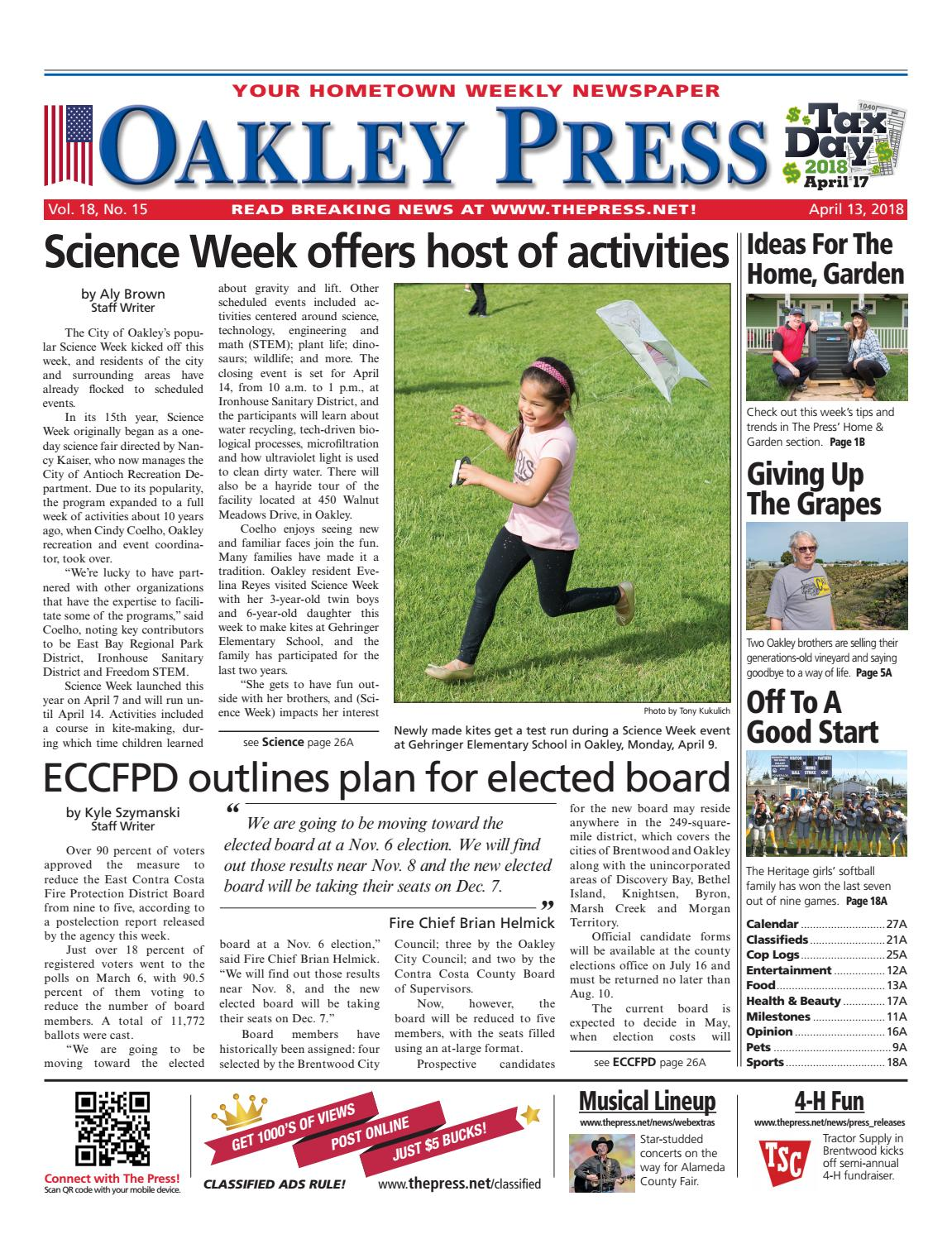 1c413928b4 Oakley Press 04.13.18 by Brentwood Press   Publishing - issuu