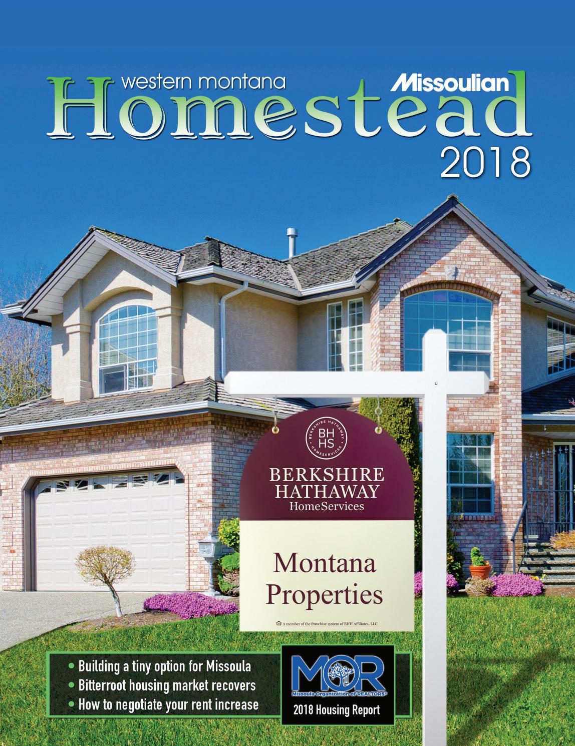 Homestead 2018 by missoulian issuu