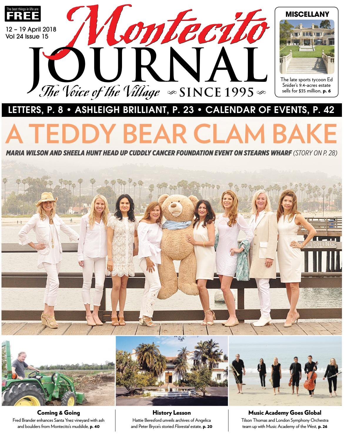 A Teddy Bear Clam Bake by Montecito Journal - issuu