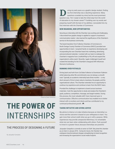 Page 16 of The Power of Internships