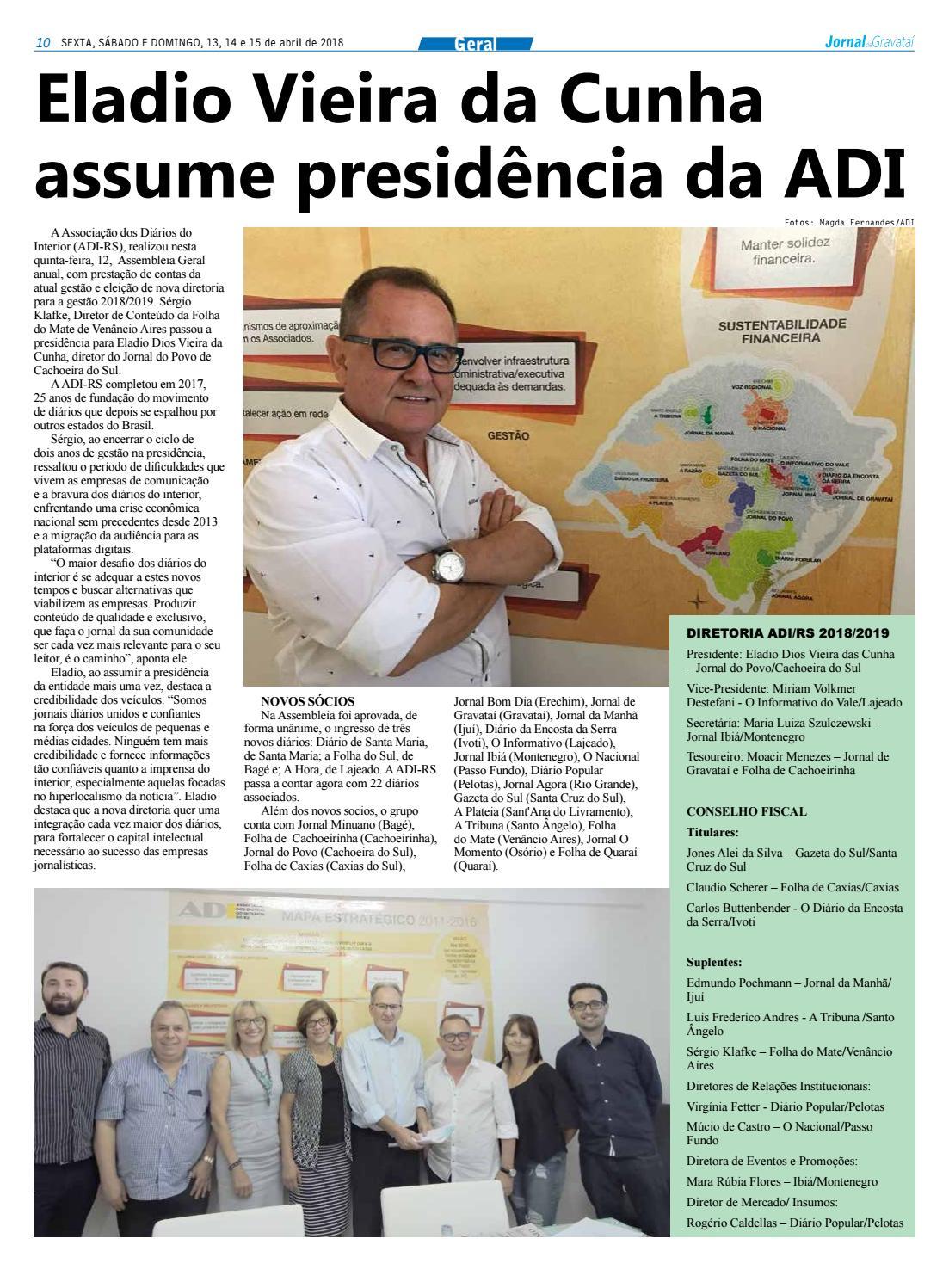 Jornal de Gravataí. Sexta a domingo 4619336e738f5