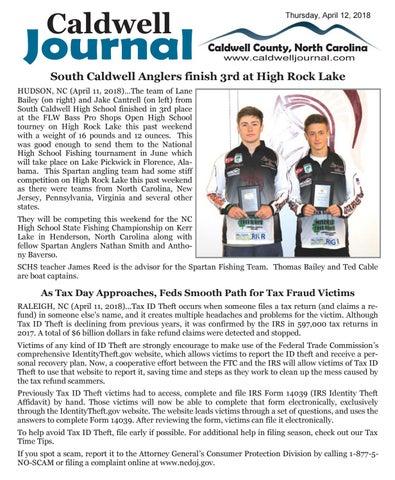 Caldwell Journal 04 12 2018 by Caldwell Journal - issuu