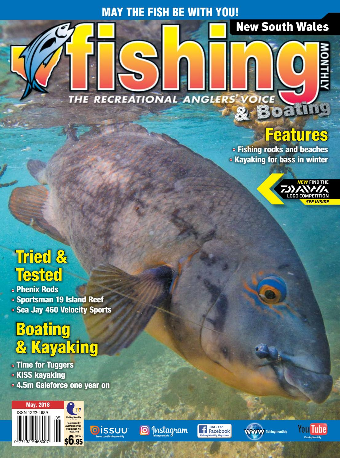 00e2e11c58b44 NSW Fishing Monthly May 2018 by Fishing Monthly - issuu