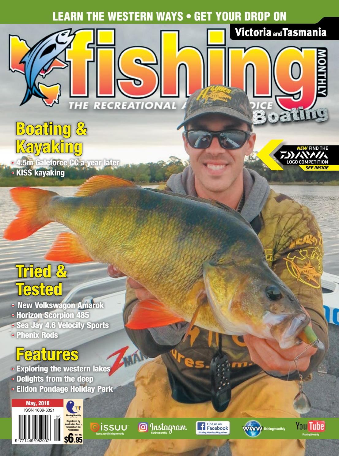 Vic Tas Fishing Monthly May 2018 By