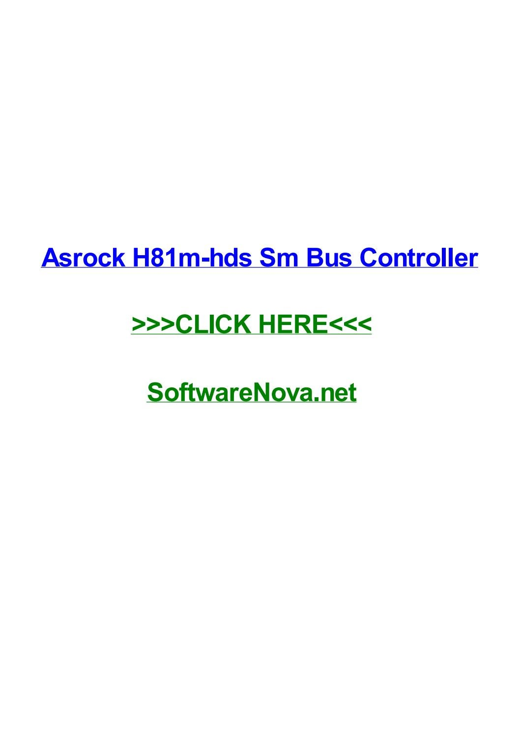 ASUS X54C SM BUS CONTROLLER WINDOWS 8.1 DRIVER