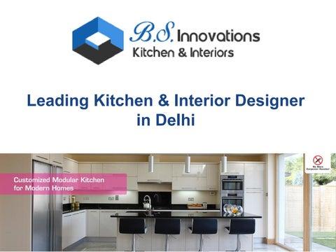 leading kitchen interior designer in delhi by bs innovations
