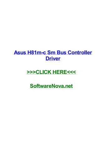 controleur de bus sm windows 7 64 bits asus