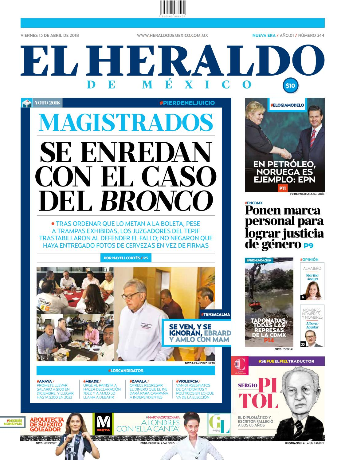 13 de abril de 2018 by El Heraldo de México - issuu 8dbf2bc367a0e