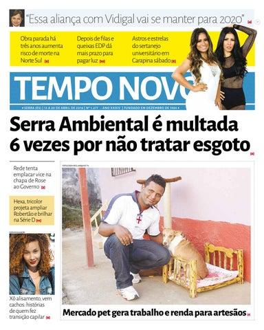 Leia a edição 1277 do Jornal Tempo Novo desta sexta-feira (13) na ... 1cb9b435c8bc3