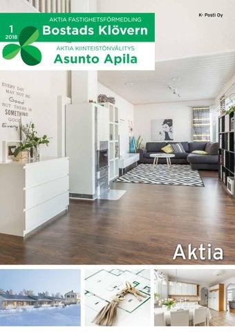 Aktia Bostads Klövern Asunto Apila 1/2018 by Aktia Fastighetsförmedling Jakobstad - Aktia ...