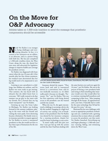 Page 14 of On the Move for Advocacy