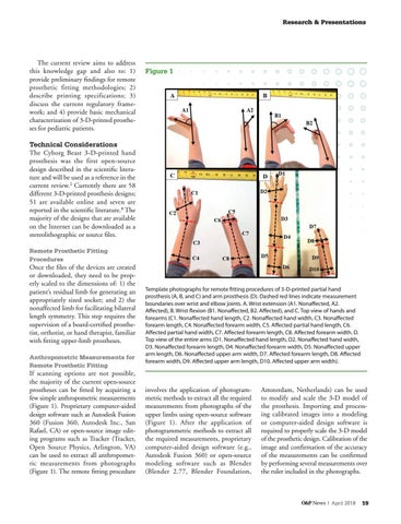 Page 21 of Considerations for the Development of 3-D Printed Upper-Limb Prostheses