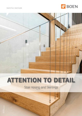 Stair Nosings And Skirtings Brochure By Boen Hardwood Flooring Issuu