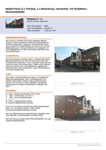 Page 2 of Bestell-Praxis provisionsfrei zu vermieten