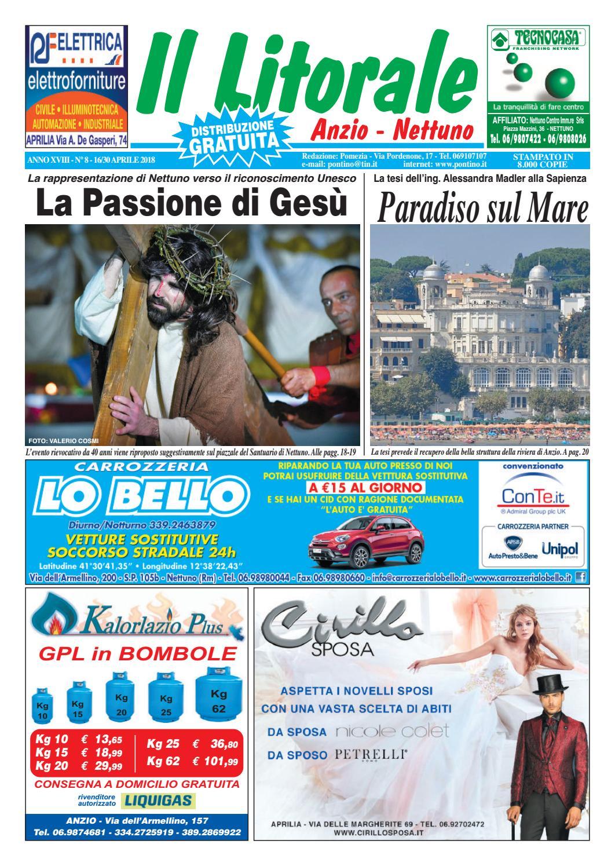 Il Litorale - Anno XVIII - N. 8 - 16 30 Aprile 2018 by Il Pontino Il  Litorale - issuu 6a4f7e3eb8f