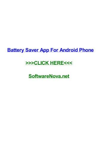 Net saver app