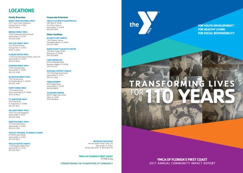 First Coast YMCA Annual Report 2017 by First Coast YMCA - issuu