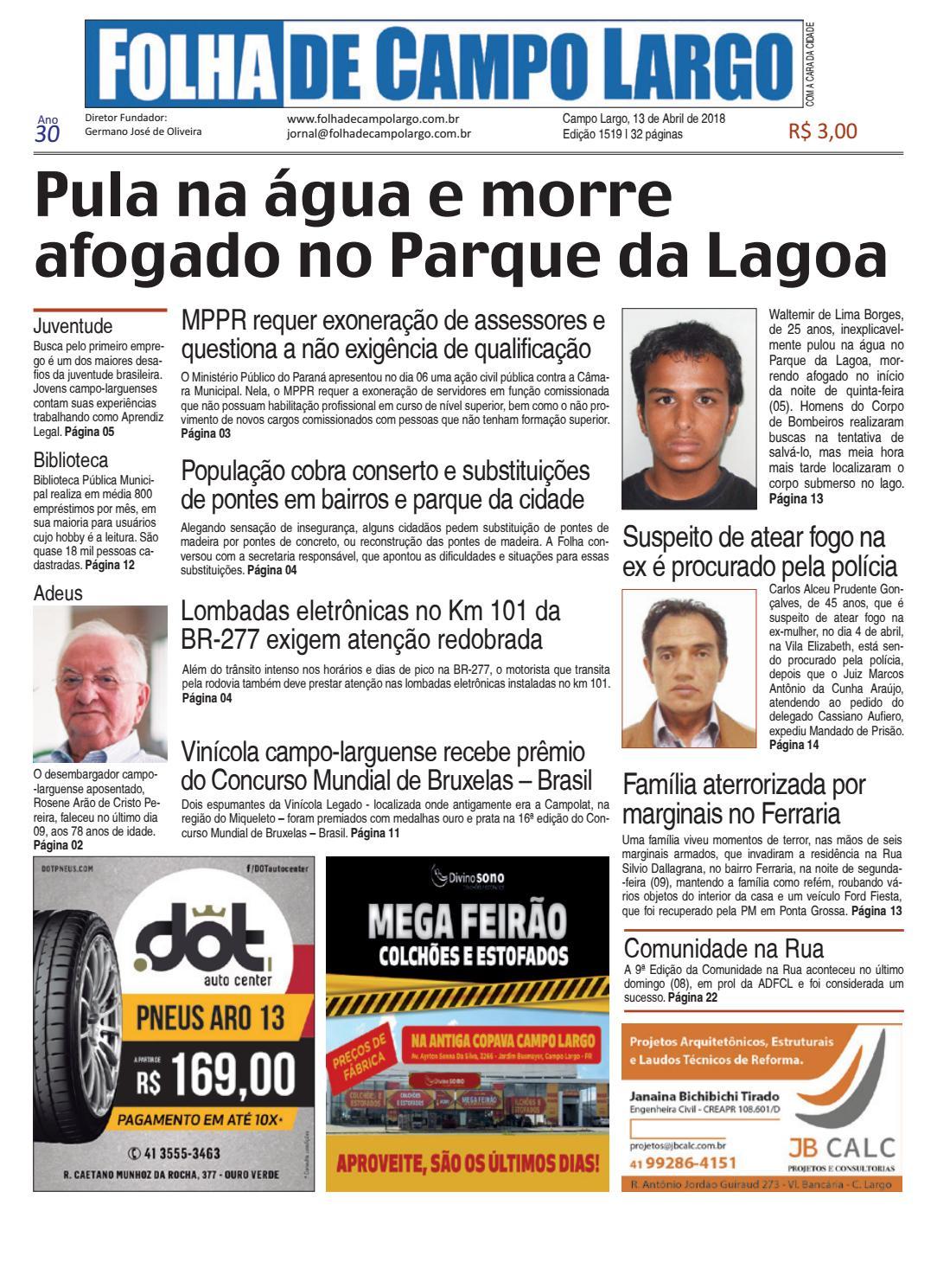 2bbcbdc45 Folha de Campo Largo by Folha de Campo Largo - issuu