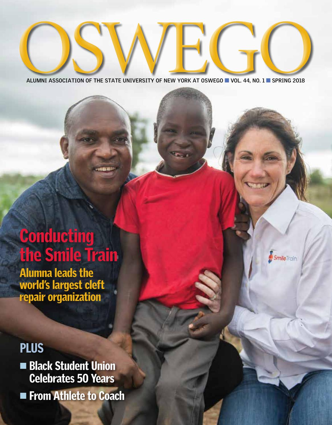 Spring 2018 Digital Issue By Oswego Alumni Association Issuu