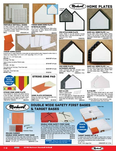 Markwort Double Wide Safety First Base