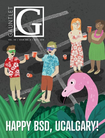 f2d93f5ef6e The Gauntlet — April Magazine by GauntletUofC - issuu