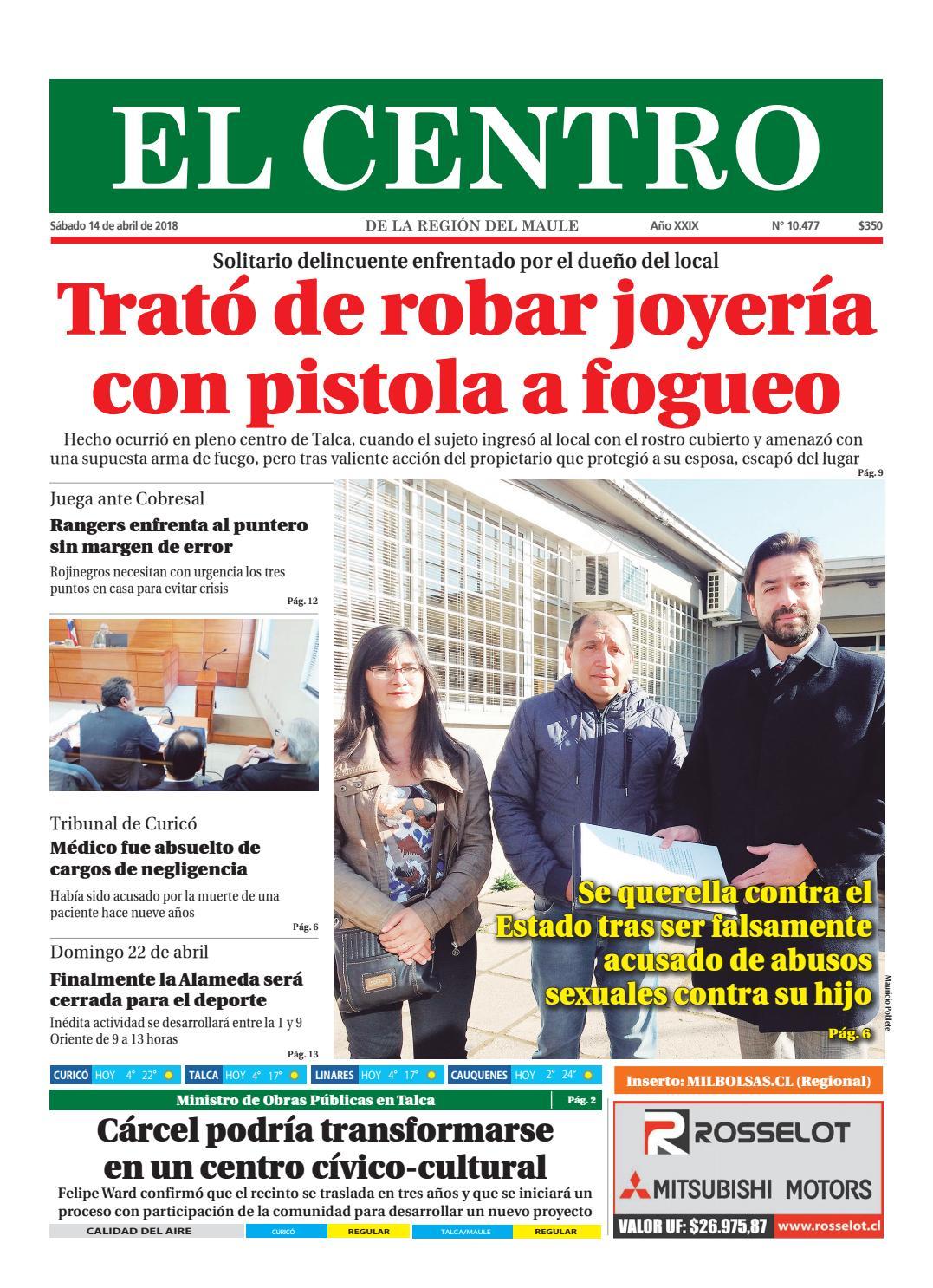Diario 14-04-2018 by Diario El Centro S.A - issuu