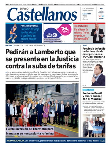 9a0bcf7a4f01 Diario Castellanos 14 04 by Diario Castellanos - issuu