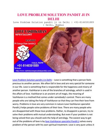 Love problem solution pandit ji in delhi by