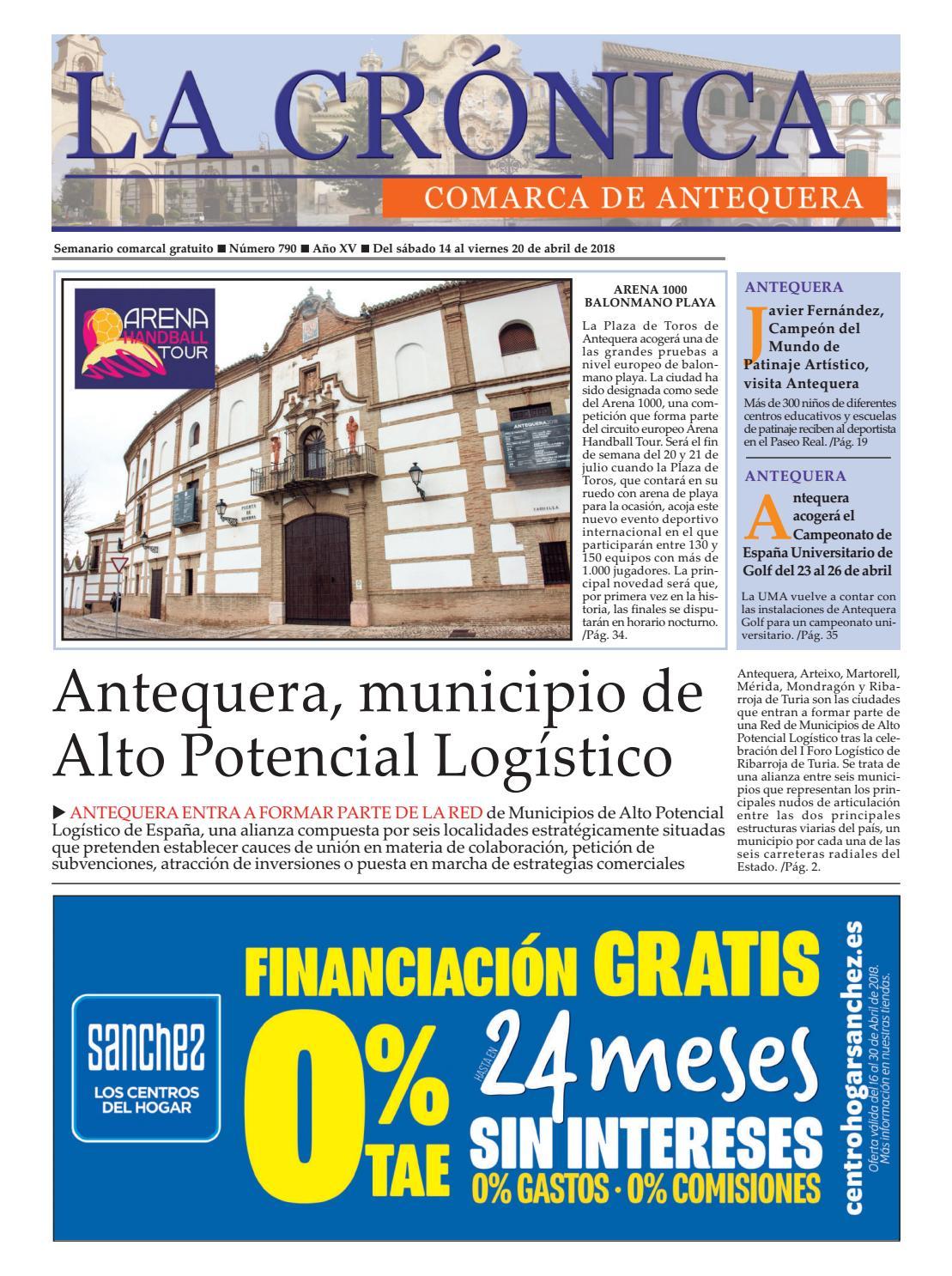 LA CRÓNICA 790 by LA CRÓNICA COMARCA DE ANTEQUERA - issuu